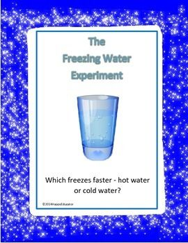 ICE The Freezing Water Experiment - does hot water freeze faster than cold water?