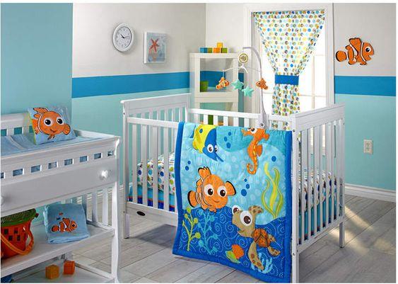 Disney Finding Nemo Baby Bedroom Collection