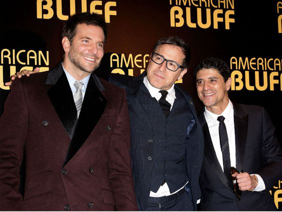 Bradley Cooper, David O. Russell, and Said Taghmaoui – 'American Hustle' Paris Premiere #2014