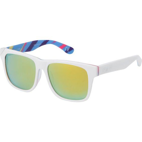Neff Thunder White & Wild Tiger Polarized Sunglasses at Zumiez