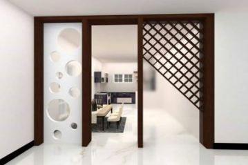 Glass Door Drawing Room 17 Ideas Living Room Partition Design Wooden Partition Design Wood Partition Design