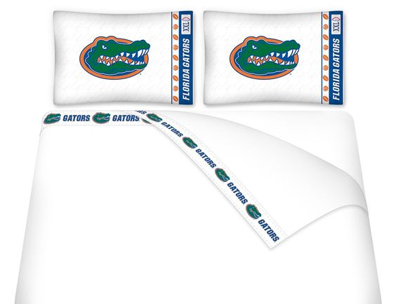 Florida Gators NCAA Twin, Full & Queen Bed Sheet Set