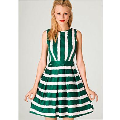 Wedding Guest Dresses: Fashion Uniom stripe dress - 50 Wedding Guest Dresses Under £50
