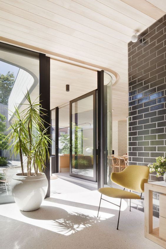 Owner and architect, Clare revived her family's Edwardian house with a modern sculptural extension.