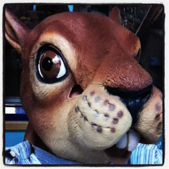 Squirrel Mask from Archie McPhee