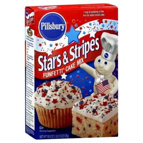 Pillsbury Stars Stripes Cake Mix