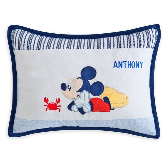 MICKEY MOUSE Pillow – Personalizable