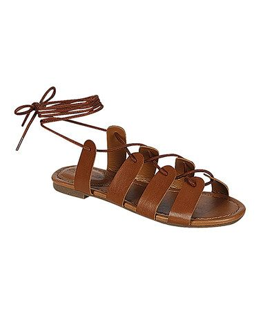 This Tan Indio Sandal by Breckelle's is perfect! #zulilyfinds
