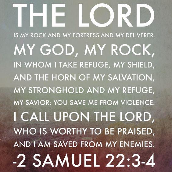 2 Samuel 22:3-4