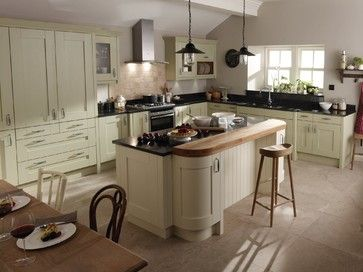 Kitchens - midcentury - Kitchen - North East - Elmwood Interiors