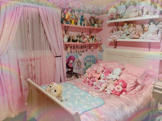 Animecore Tumblr Kawaii Bedroom Kawaii Room Otaku Room
