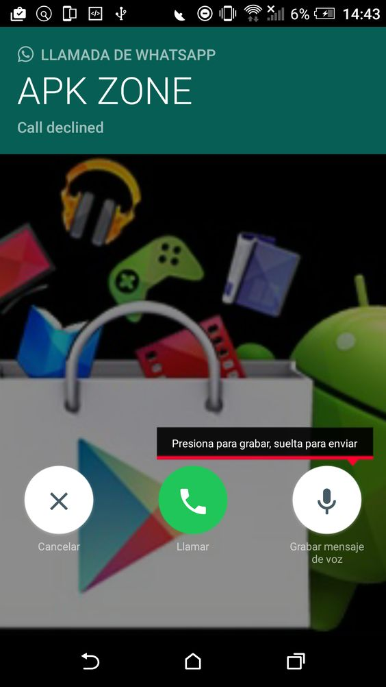 WhatsApp para Android ya permite usar buzón de voz (APK)