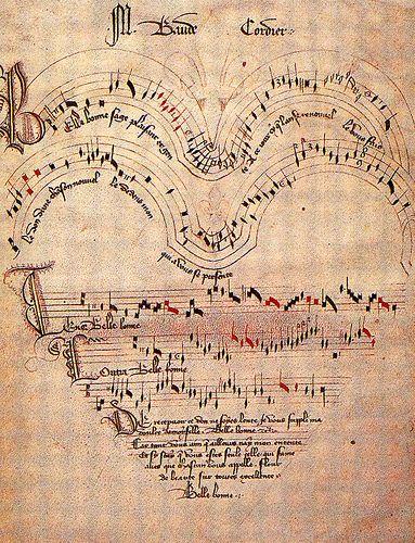 Late medieval score by jkervinen, via Flickr