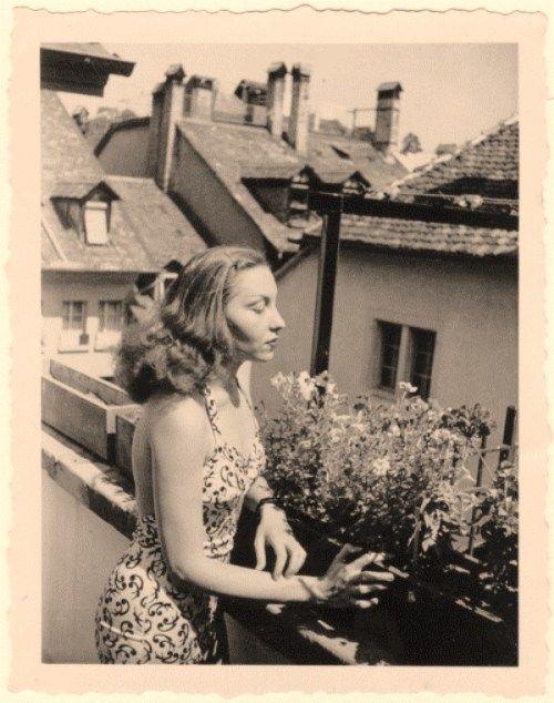 Clarisse Lispector (1920-1977), Berlin, 1947