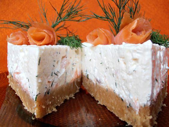 CAIETUL CU RETETE: Cheesecake cu somon