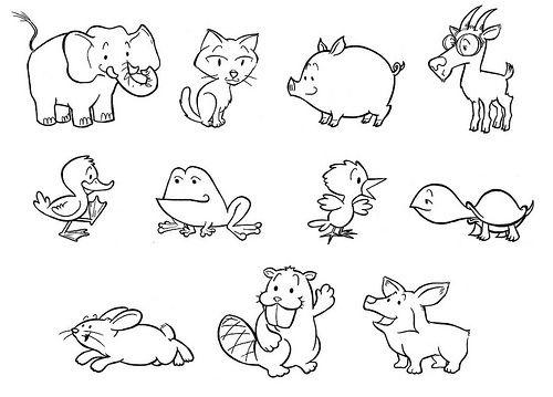 Animal Drawing | Animal Drawings | Pinterest | Animal drawings ...