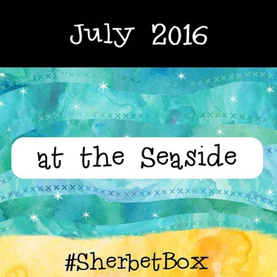 Now available to order on the Sherbet Lane website... July's #SherbetBox !!