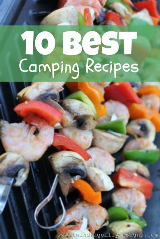 Dragonfly Designs: 10 Best Camping Recipes