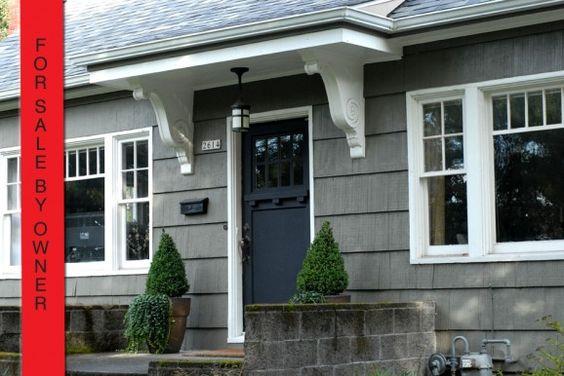 Front door overhang small house ideas pinterest for Front door overhang ideas
