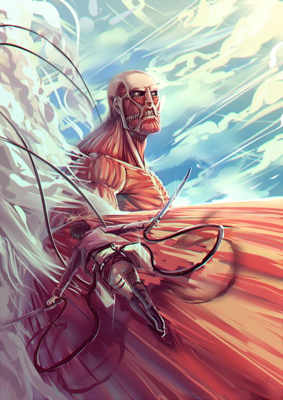 Attack on Titan { aka Shingeki no Kyojin } ~~ The naming confuses people, but the awesomeness doesn't.