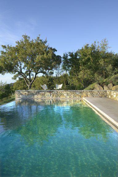 Monteverdi - A retreat in the UNESCO World Heritage Site of the Val d'Orcia, Tuscany - Castiglioncello del Trinoro, Italy - 2012 #swimmingpool #pools #italy: