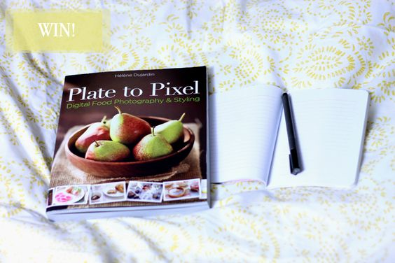 Giveaway: Food photography book by Helene Dujardin