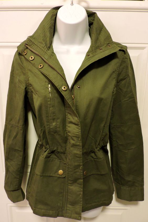 $45 Military Green Jacket Click link to shop our affordable boutique! www.shopoaklynreece.com