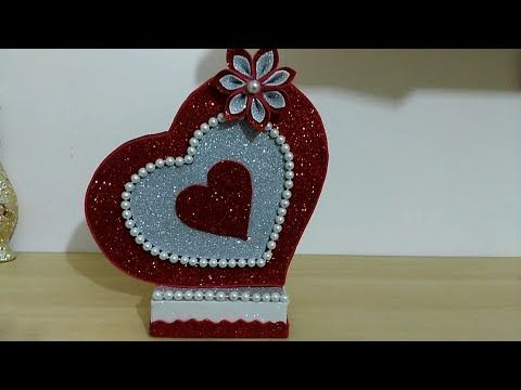 عمل يدوي بسيط و جميل هدية للاصحاب Lavoro Semplice Regalo Per Gli Amici Youtube Diy Valentines Decorations Art And Craft Videos Valentines Diy