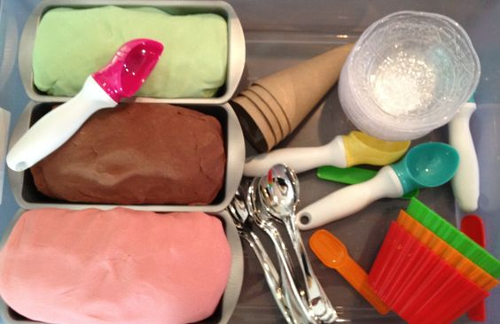 Smart.Play. Ice Cream Shop Sensory Box  www.gumptionkids.com