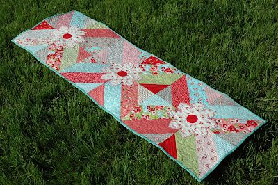 Tutorial Table Runner #Sewing #Quilting
