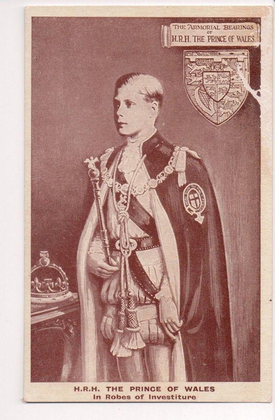 King Edward VIII, former Prince of Wales, future Duke of Windsor