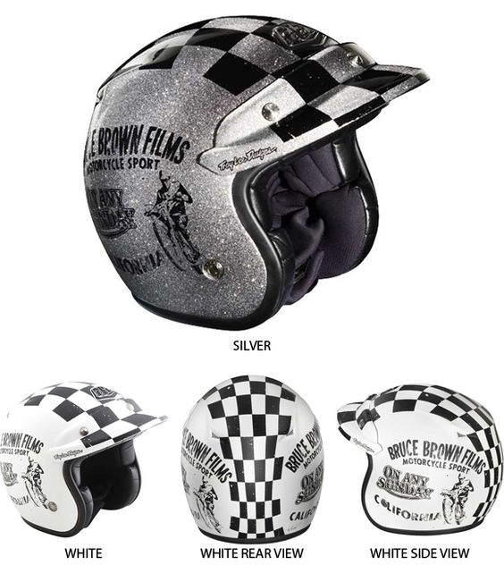 Troy Lee Designs On Any Sunday LE Open Face Helmets