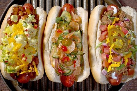 Washington Nationals Hot Dog Trio