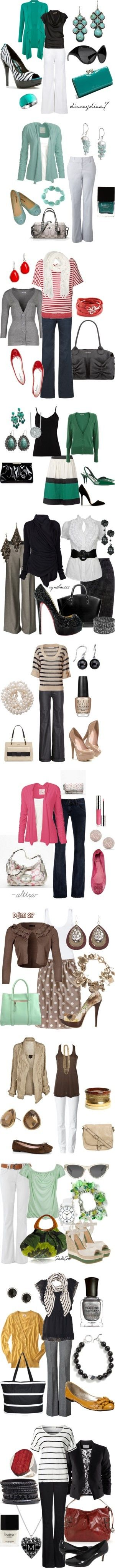 Cute! I just have to have them all - Click image to find more Women's Fashion Pinterest pins
