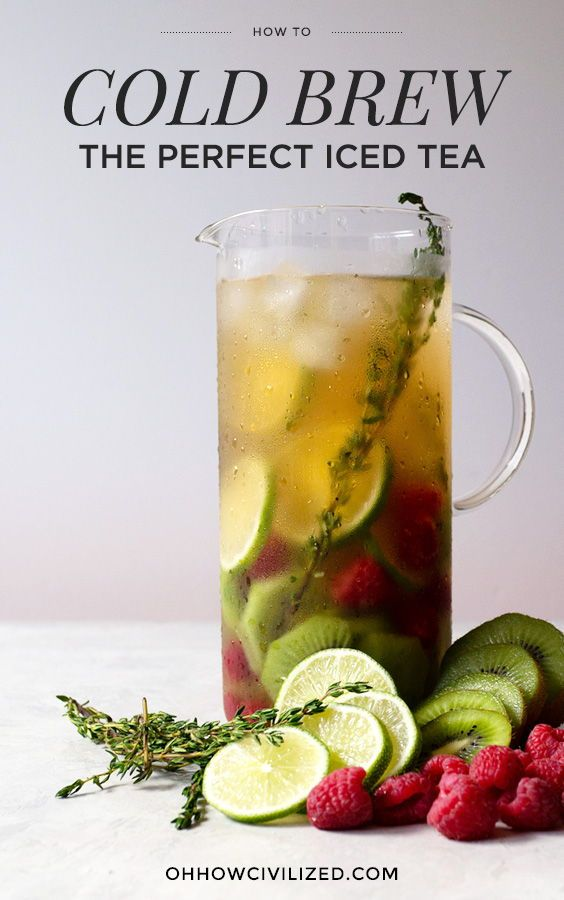 How To Make The Best Iced Tea Cold Brew It Brewing Tea Iced