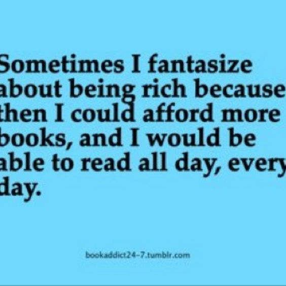 Forget the kids, I want to be a stay at home reader!