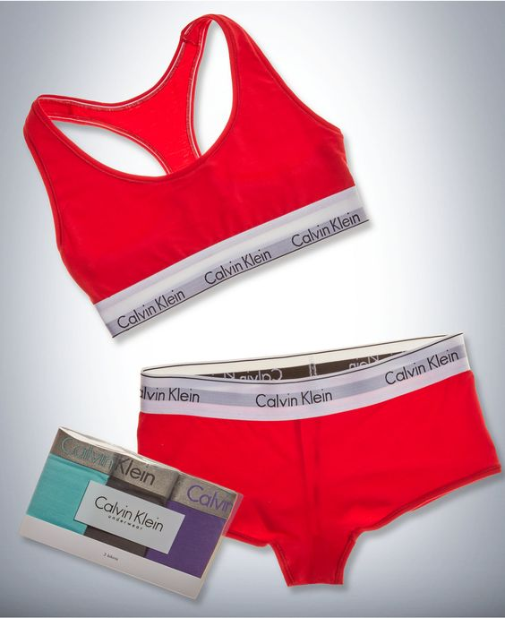 Calvin Klein Modern Cotton Bralette, Boyshort and Radiant Bikini 3-Pack Gift Set - Calvin Klein - Women - Macy's