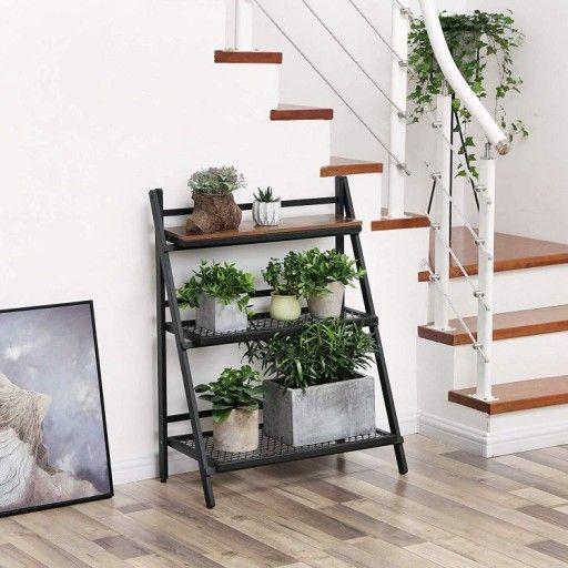 Kwietnik Regal Drabina 3 Metalowe Polki Stojak 319 Zl Allegro Pl Raty 0 Darmowa Dostawa Ze Smart Siedlisko Stan Now Home Decor Decor Ladder Decor