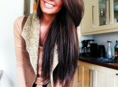 I am determined to grow my hair this long!