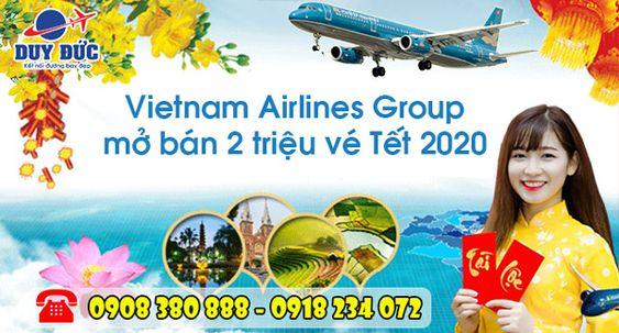 Vietnam Airlines mở bán vé Tết 2020