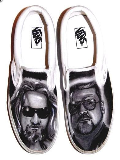 The Big Lebowski vans..