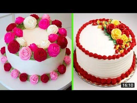 تزيين الكيك بأشكال بسيطة وسهلة Youtube Desserts Cake Birthday Cake