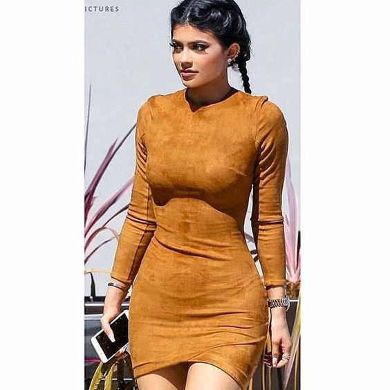 Kylie in this Dress
