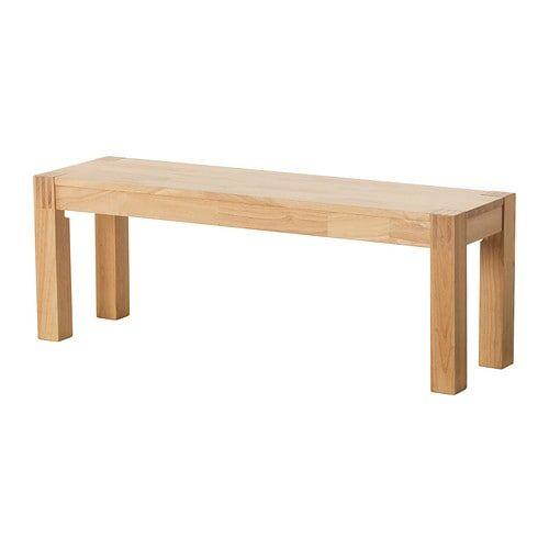 Australia Sitzbank Holz Gummibaum Holzbank Ohne Lehne