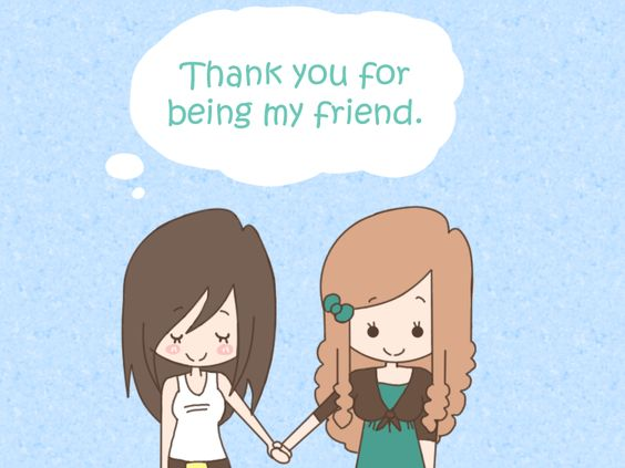 Thank You For Being My Sister Quotes: Thank You For Being My Friend Cute Friendship Quote