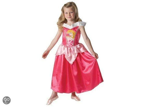 Prinsessenjurk Classic Doornroosje - Kostuum - (voor werk)