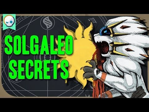 Pokemon Alchemy Solgaleo S Origins Pokemon Pokemon Sun