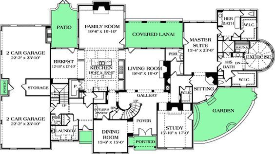 Plan 17728lv A Very Special Master Suite How To Plan Master Suite Mountain House Plans