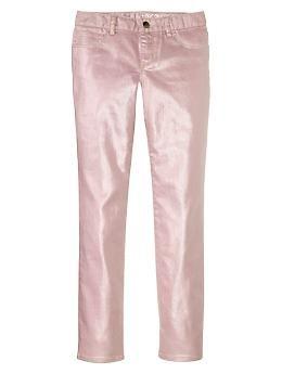 1969 metallic coated super skinny jeans | Gap