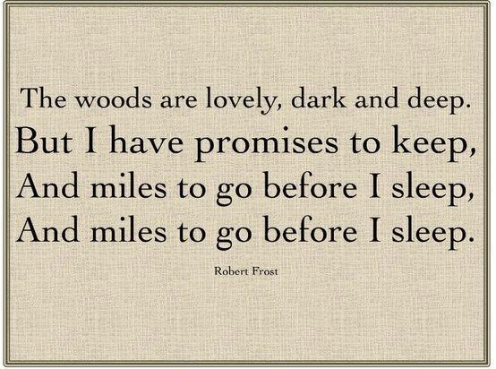 robert frost short poems pdf
